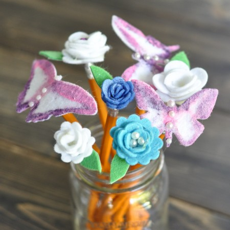 Pencil Bouquet - Back to School - Teacher's Gift-13