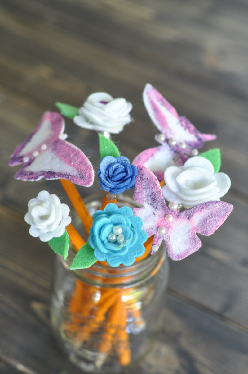 Pencil Bouquet - Back to School - Teacher's Gift-9