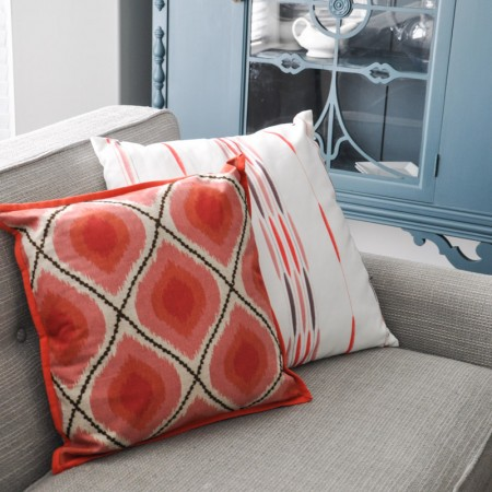 Pillow Central Coral and Blue Pillows-4