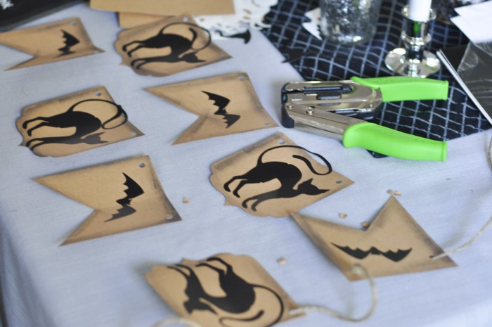 Halloween Banner With Sizzix BigShot - Bunting Tutorial-2