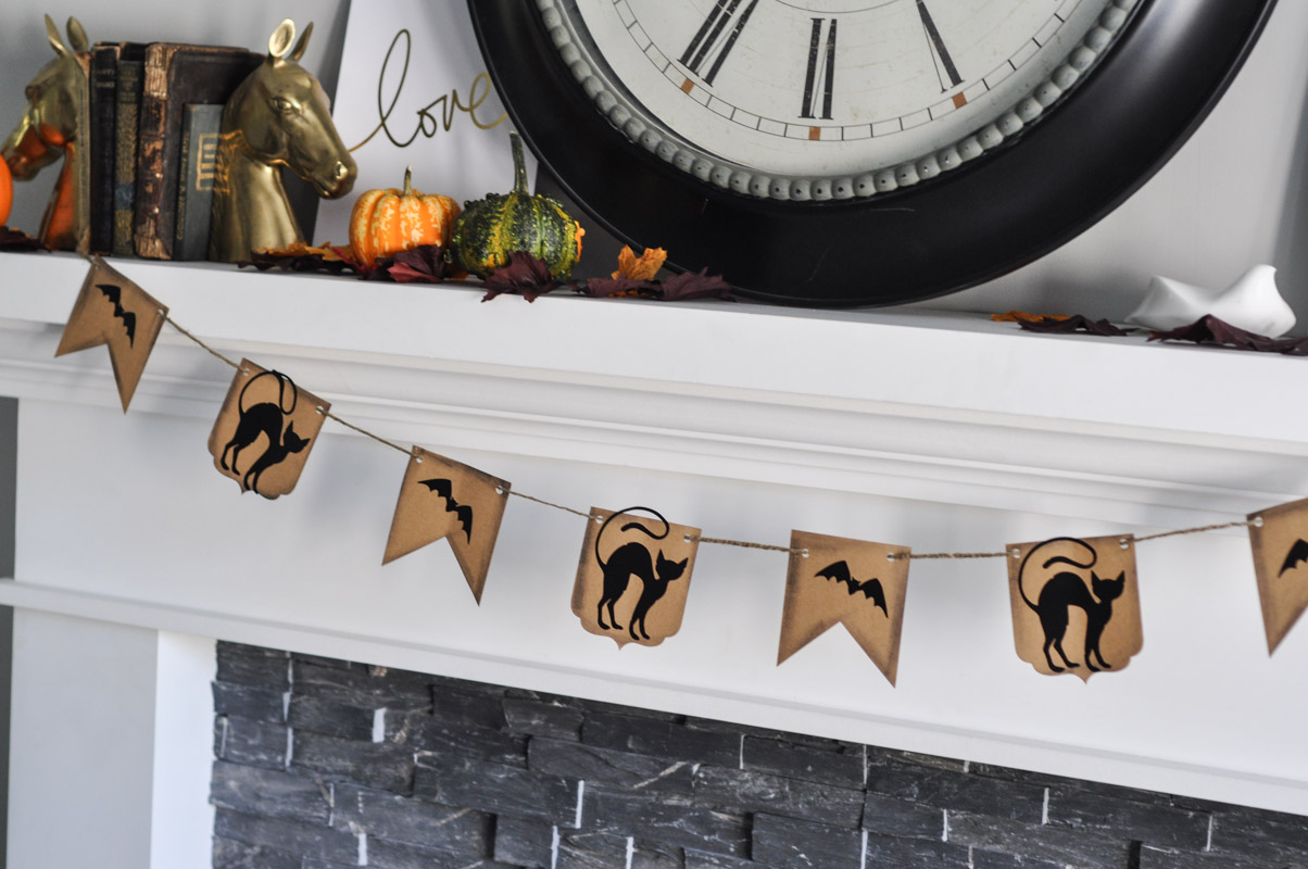 Halloween Banner With Sizzix BigShot - Bunting Tutorial-4