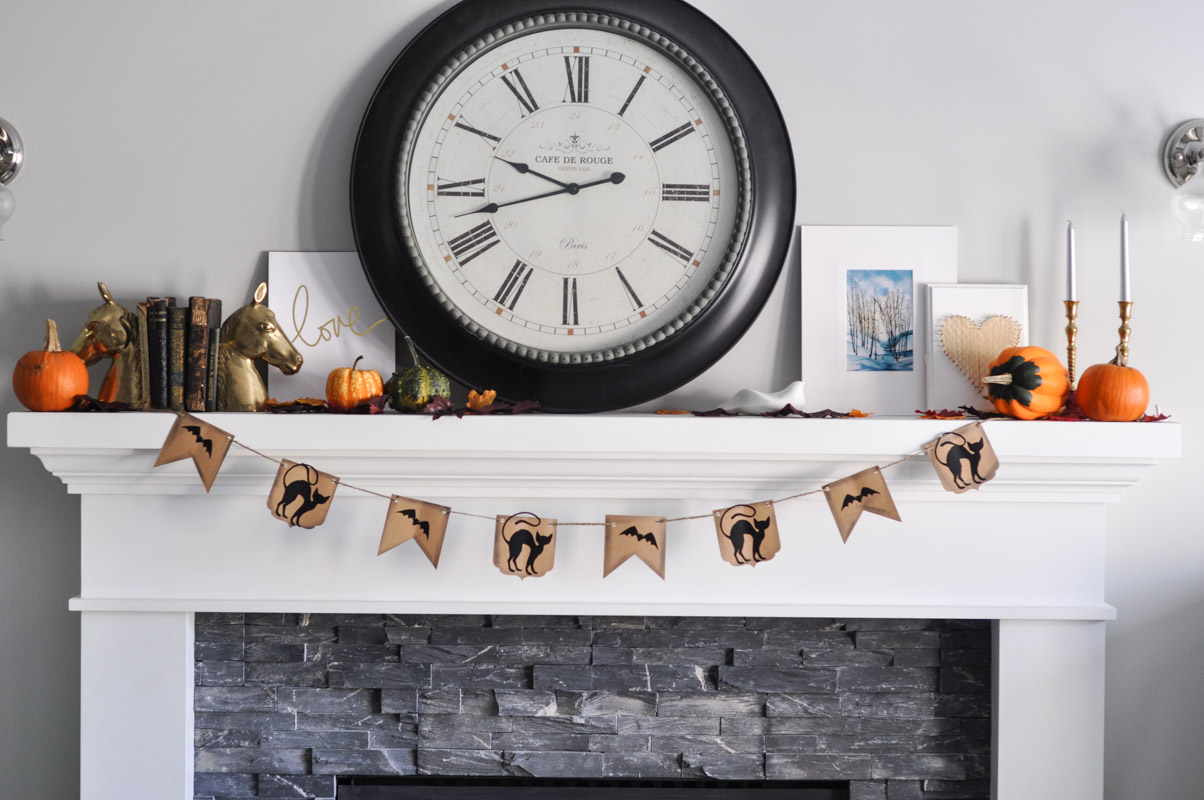 Halloween Banner With Sizzix BigShot - Bunting Tutorial-5