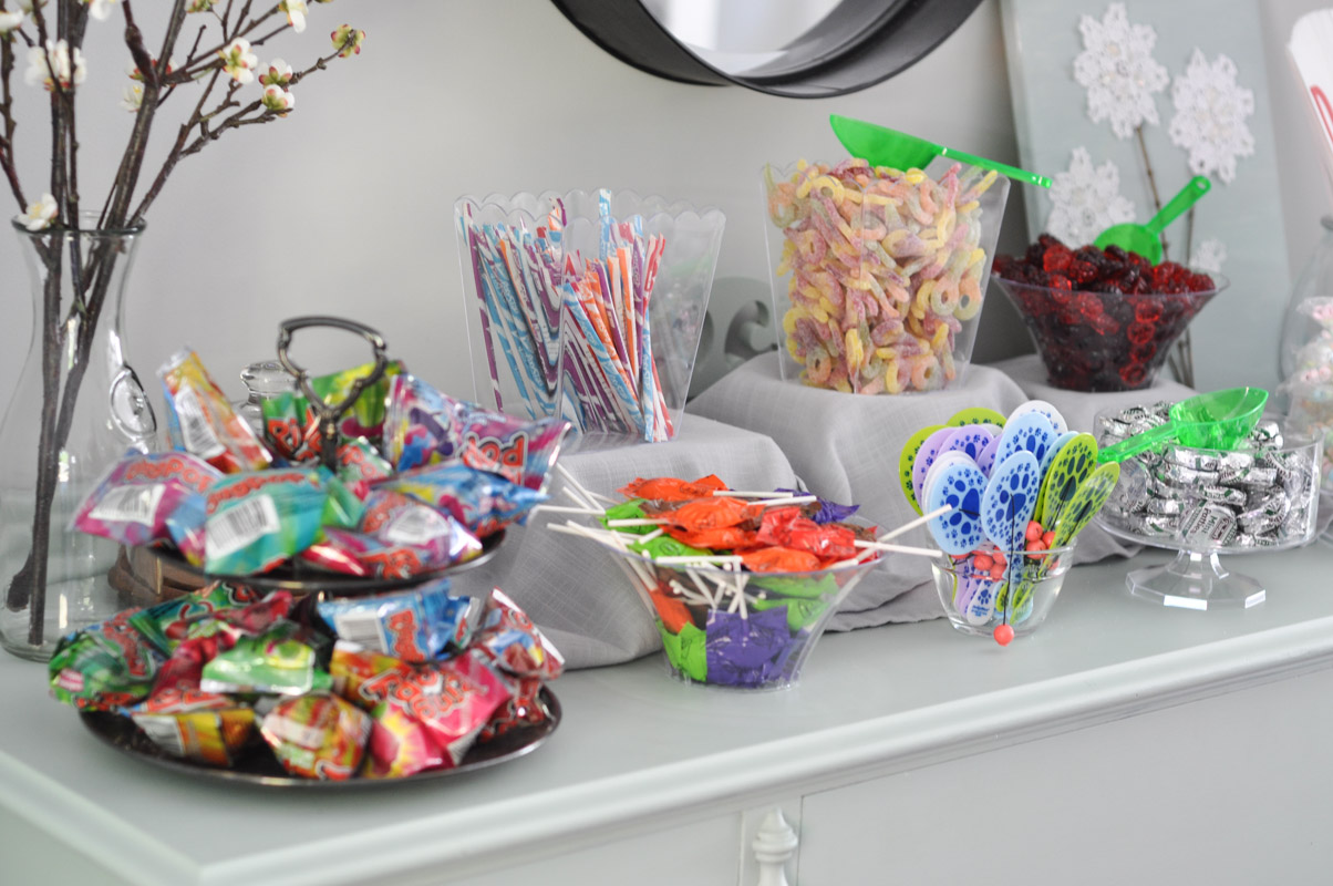 a puppy party u0026 a candy bar suburble