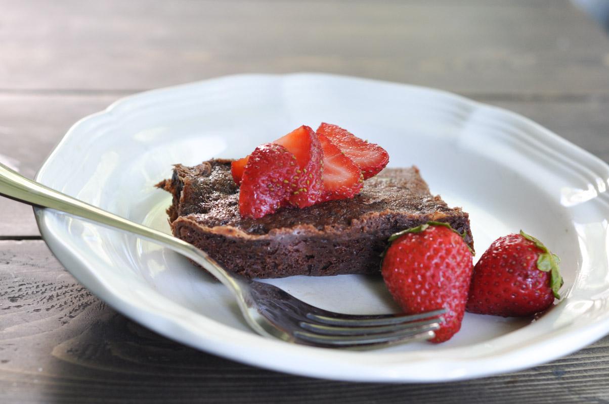 Vegan Chocolate Brownie - Dairy Free with Coconut Milk-2