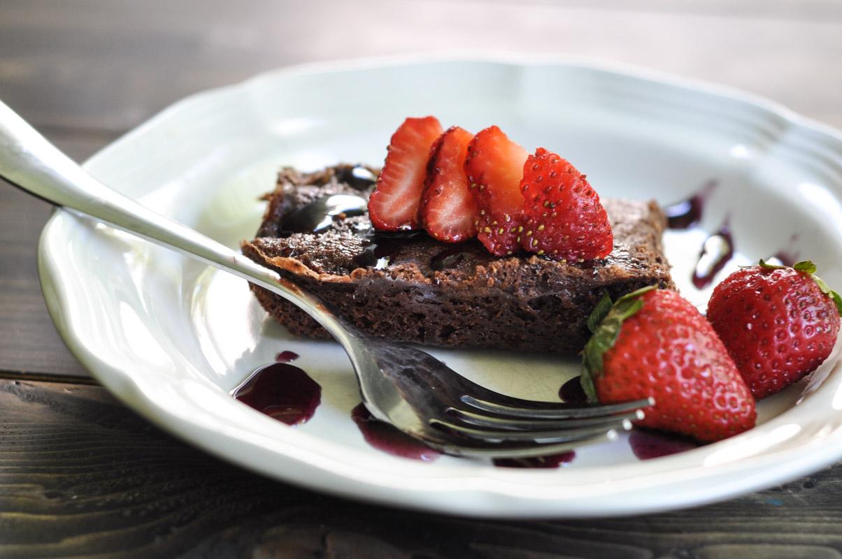 Vegan Chocolate Brownie - Dairy Free with Coconut Milk-3