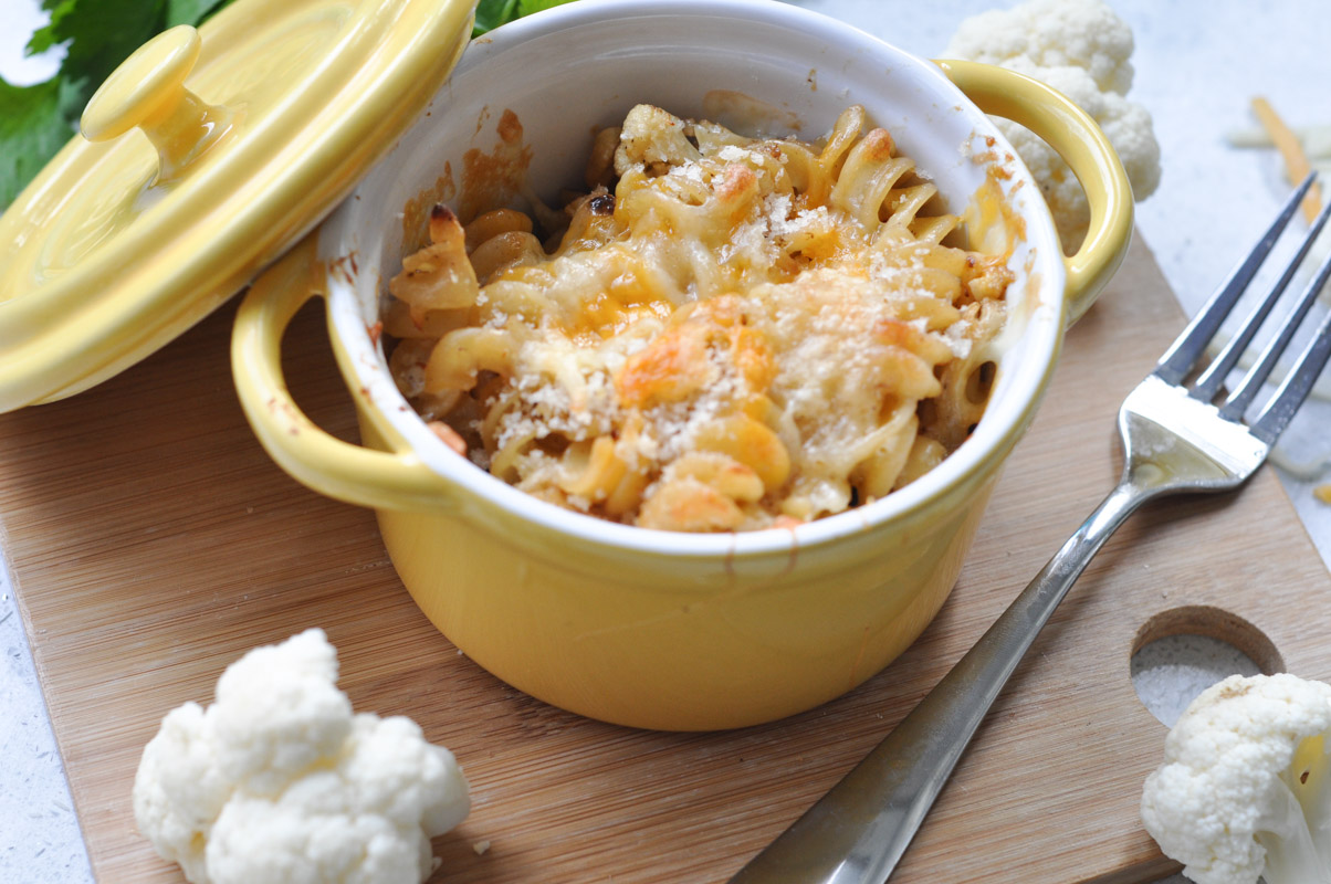 Baked cauliflower mac and cheese with ikea cuisine mac for Ikea cuisine mac
