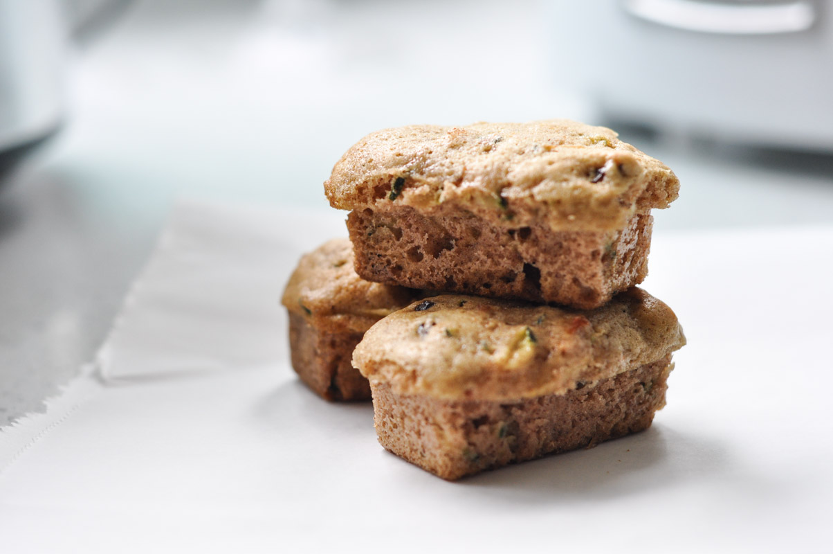 Zucchini Mini-Loaves with Perfect Petites and Pumpkin Pie Spice-2
