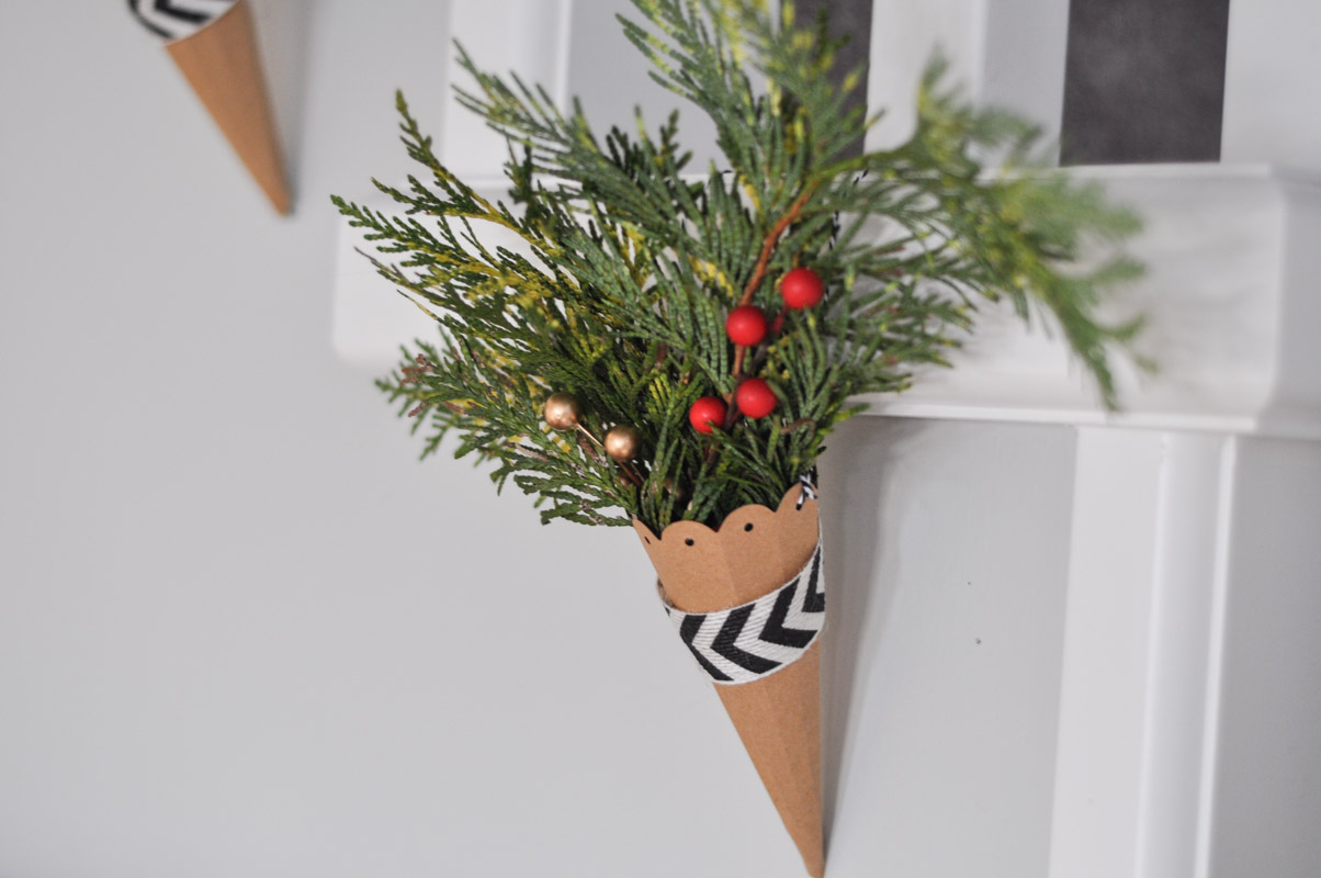 Christmas Cornucopias with Sizzix-6