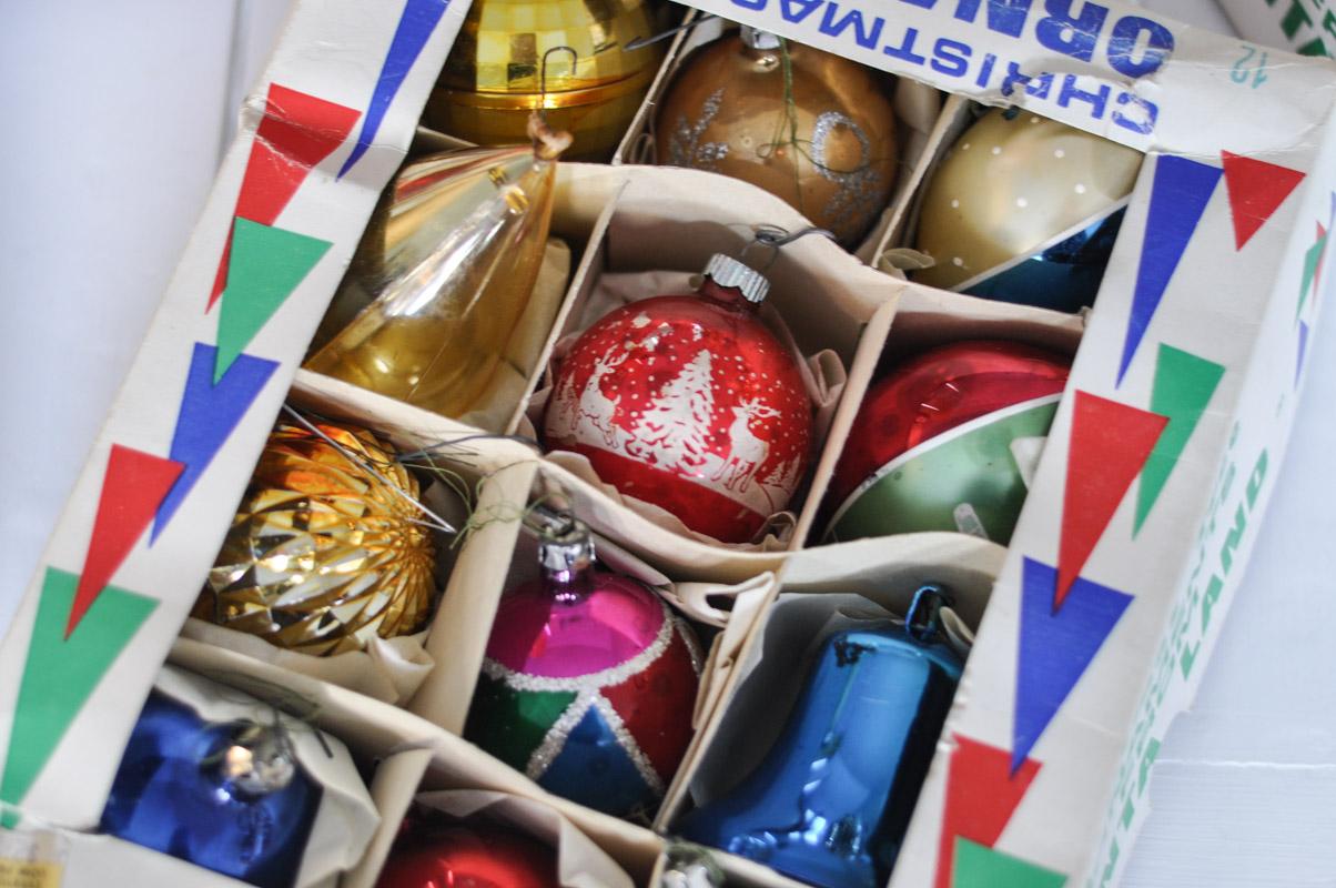 Grandma's Ornaments - Santa Land Glass Blown Ornaments-1