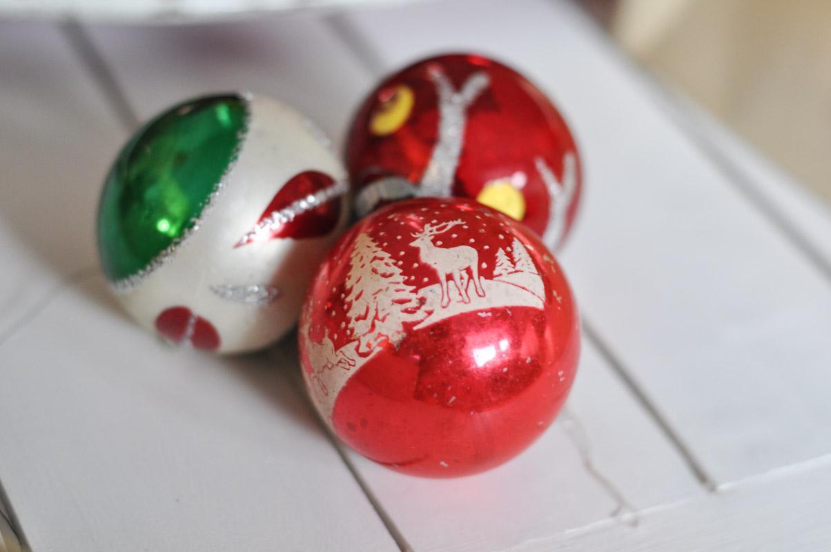 Grandma's Ornaments - Santa Land Glass Blown Ornaments-8