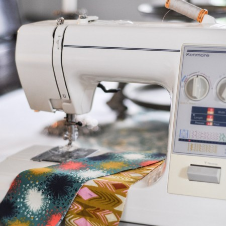 Quilting Class - Cutting and Sewing-5