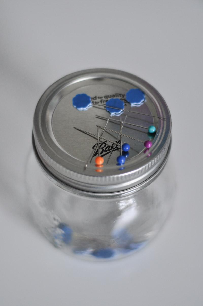 Mason Jar Magnetic Pin Holder-7