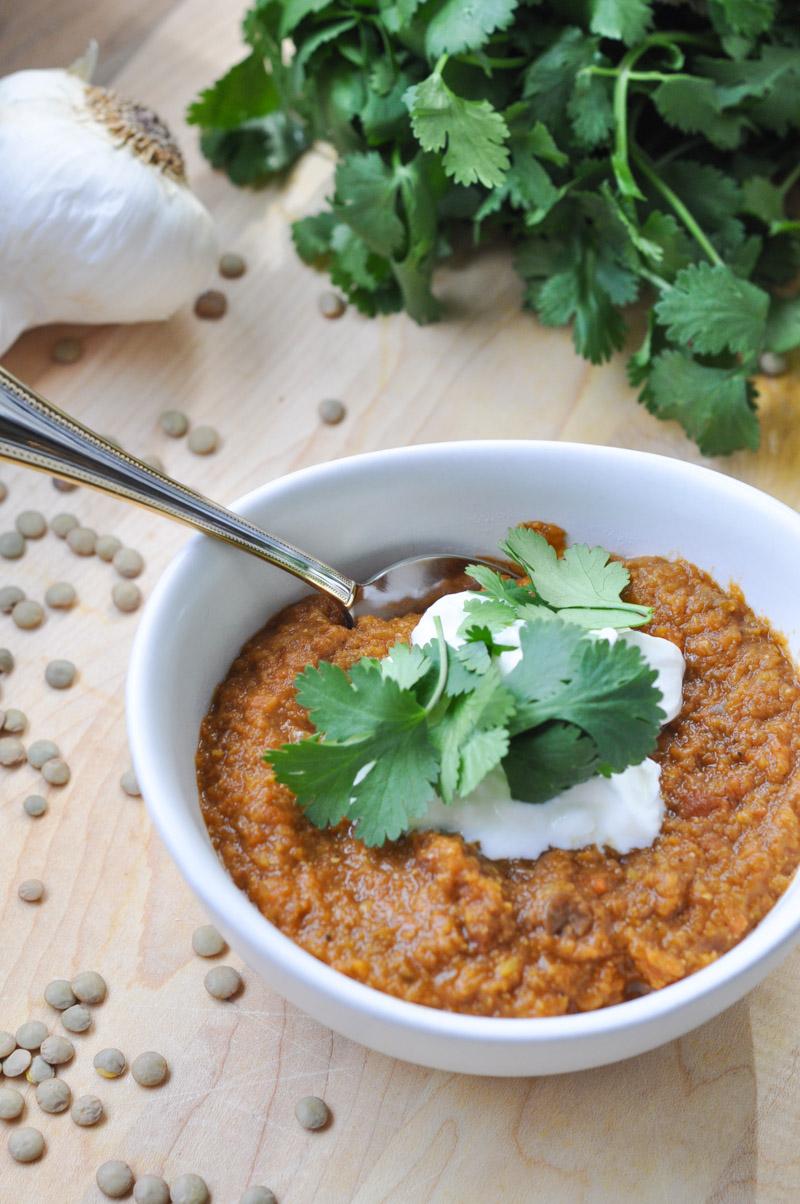 Curried Lentil Soup-5
