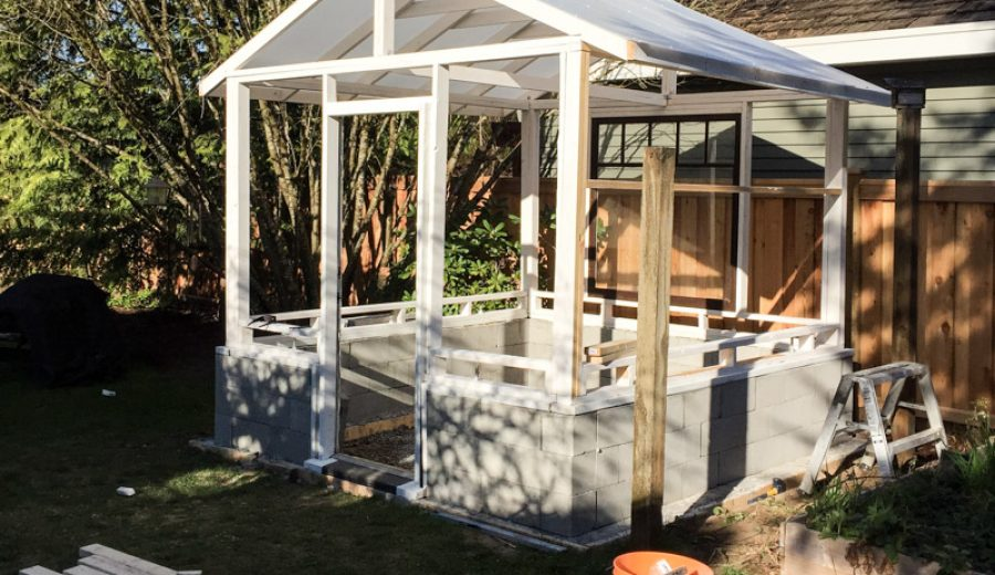 The Greenhouse Project: Framing and the Roof