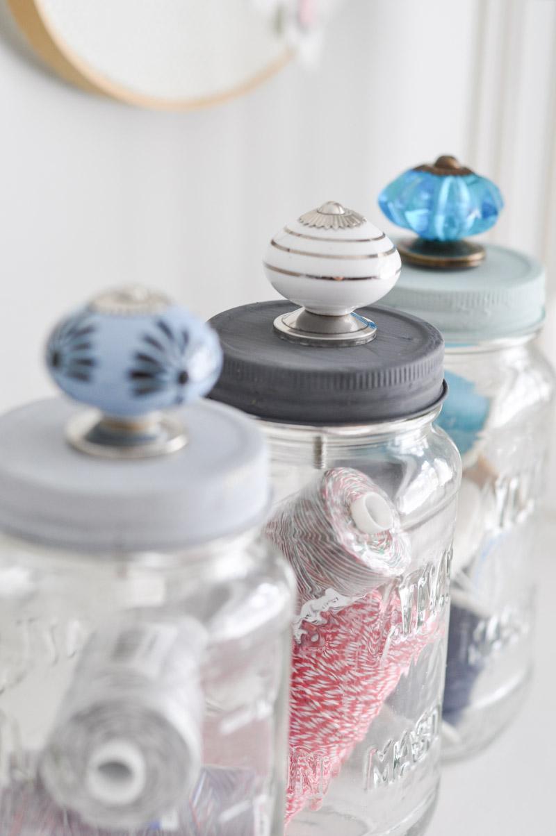 Upcycled Mason Jar Storage-1