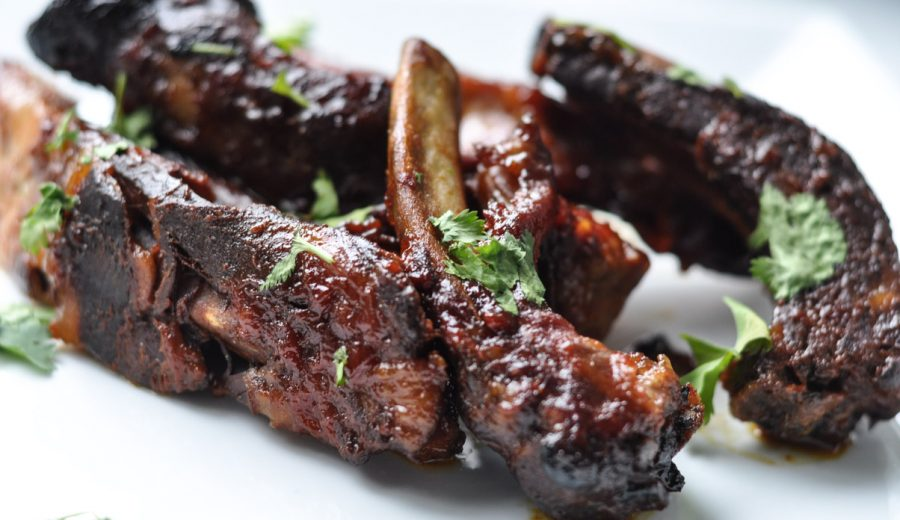 Appy Hour: Sweet Thai Chilli Ribs and Curried Quiche