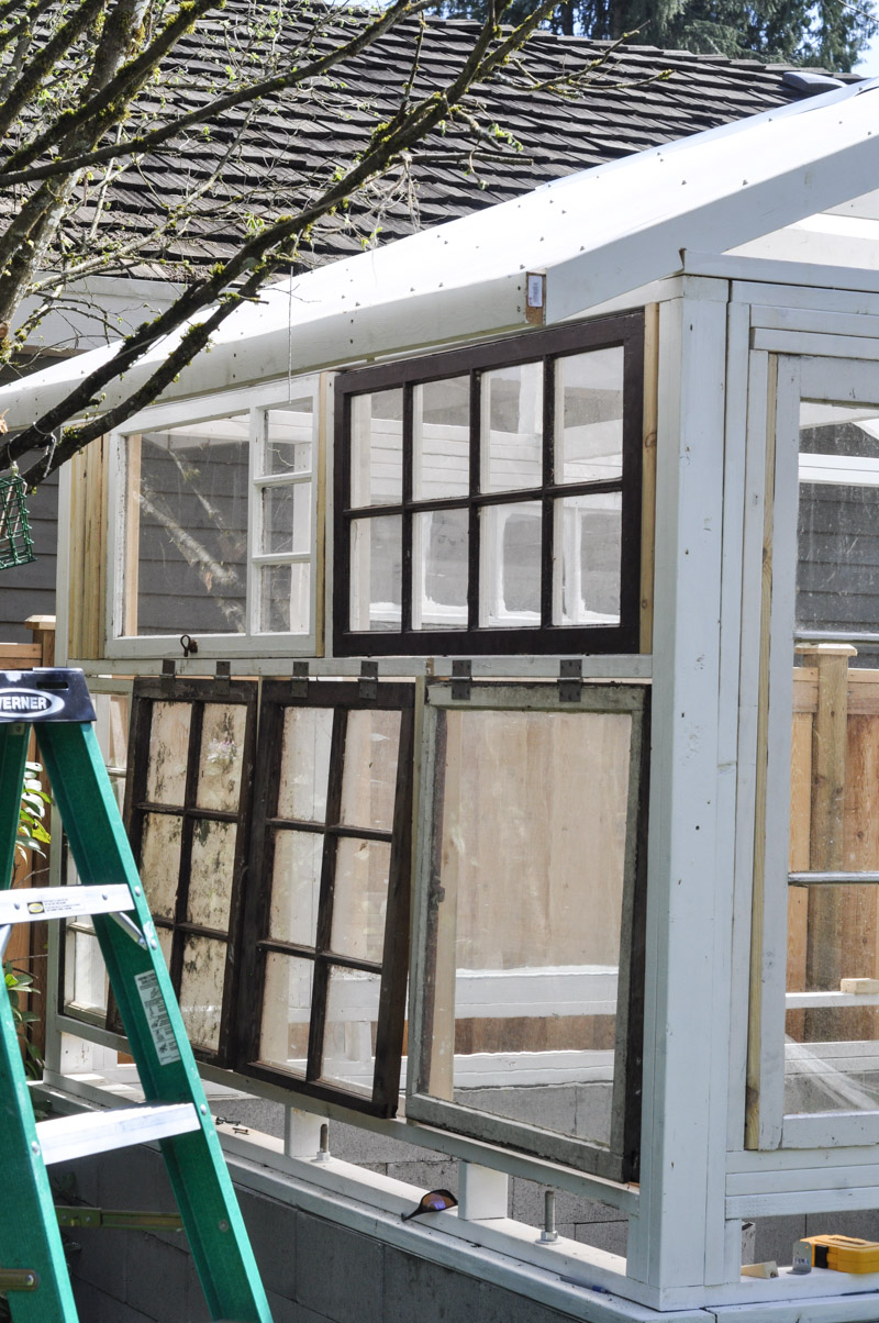 The Greenhouse Project- Framing Windows-1