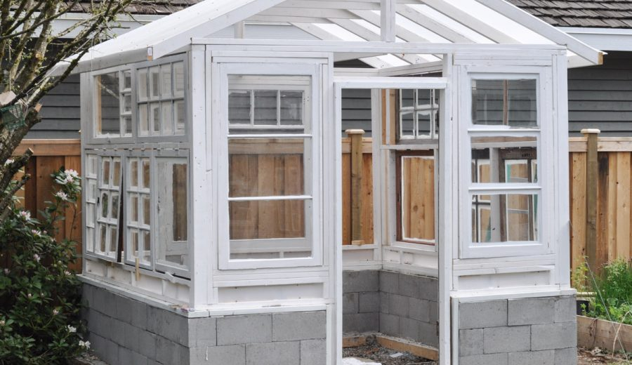 The Greenhouse Project: Windows and Staining
