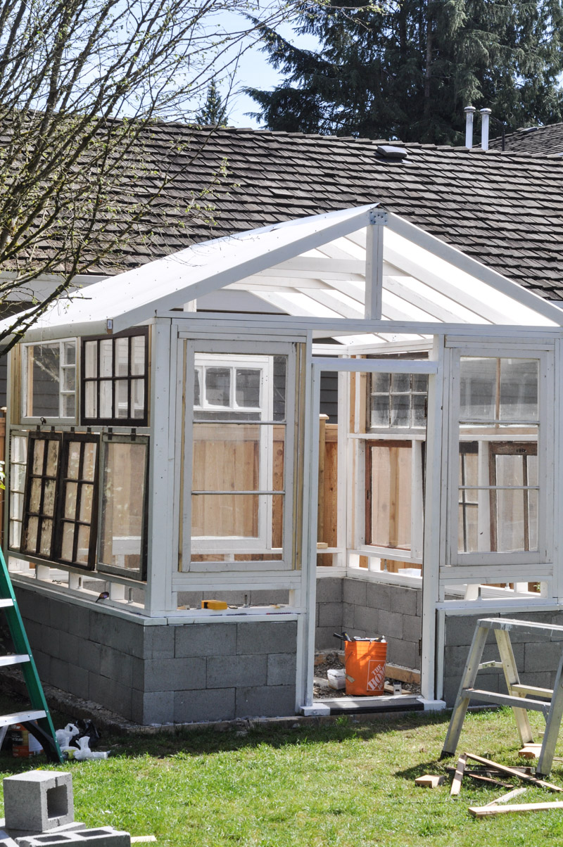 The Greenhouse Project- Framing Windows-4