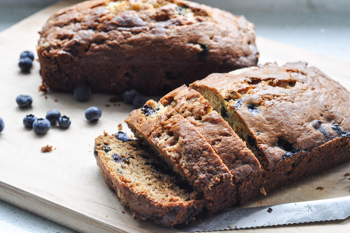 Blueberry Banana Bread-1