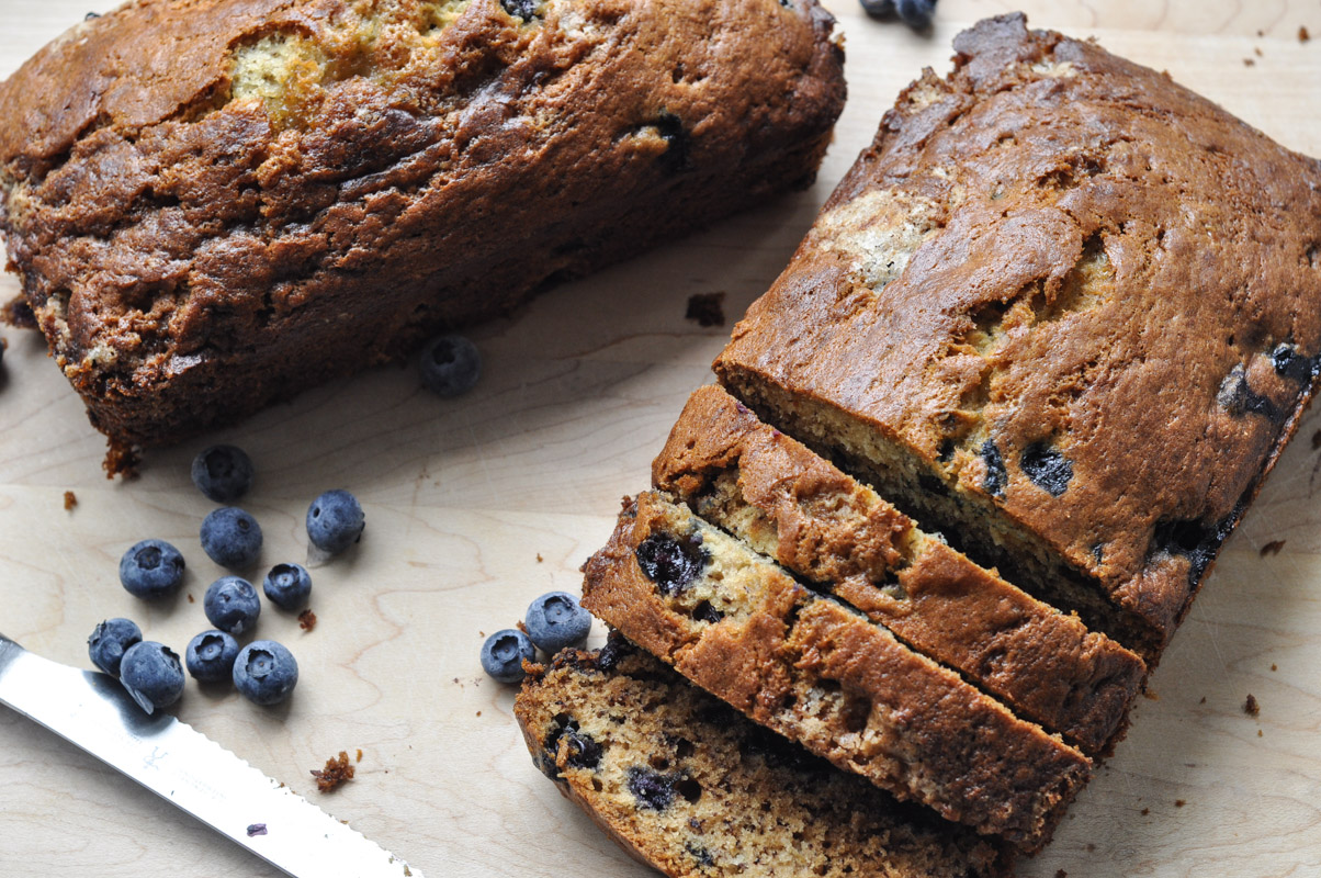 Blueberry Banana Bread-2