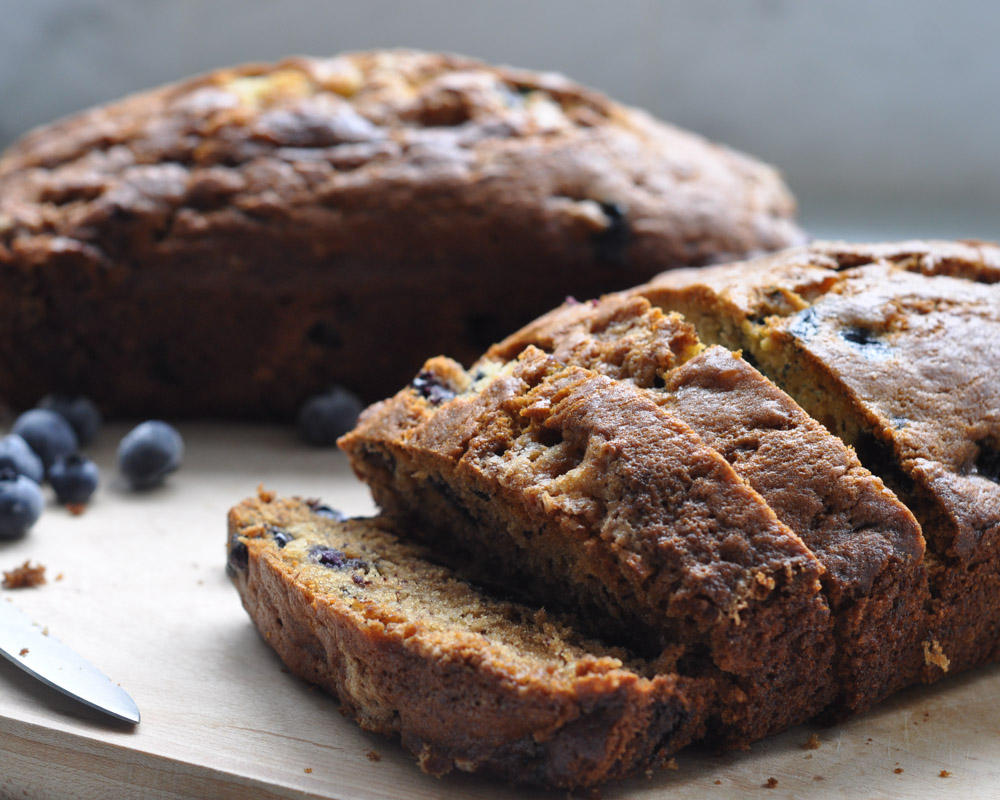 Blueberry Banana Bread-3
