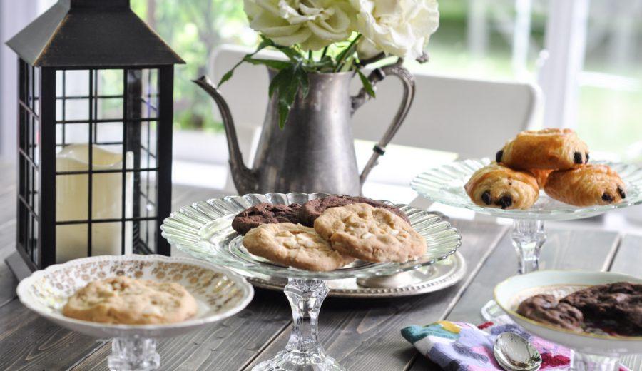 DIY Cakestands Using Vintage Plates