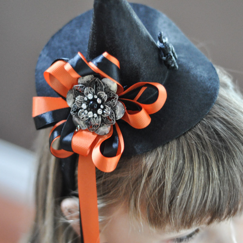 DIY Witch Hat Headband-5