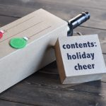 Christmas Cheer Wine Box