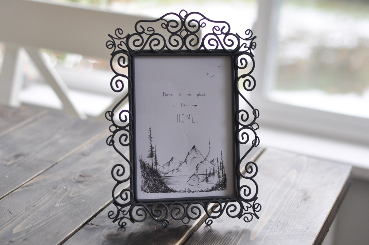 Quick Picture Frame Revamp with Fusion-3