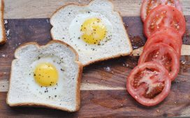 Toad in the Hole (or Fried Eggs Nestled in Bread)