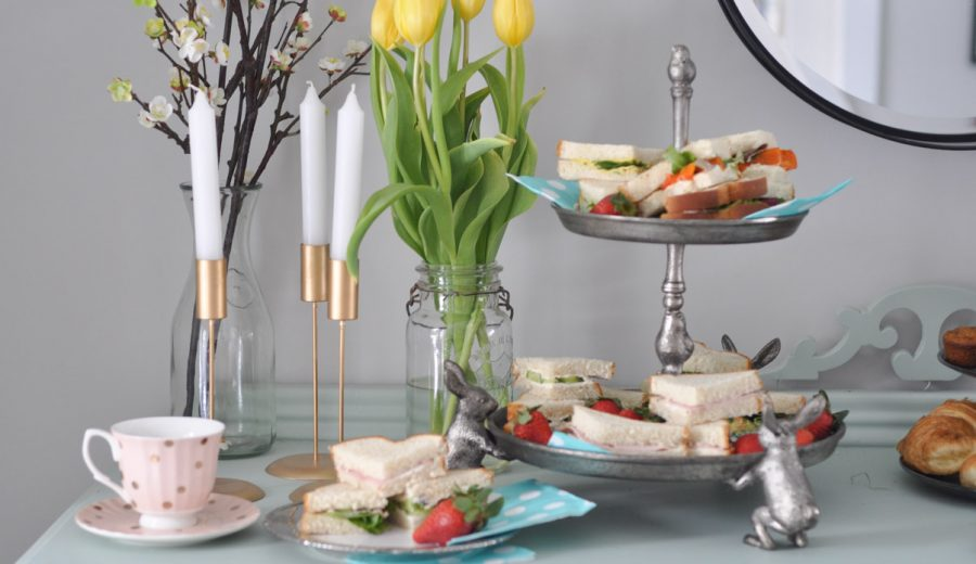 Finger Sandwiches for High Tea