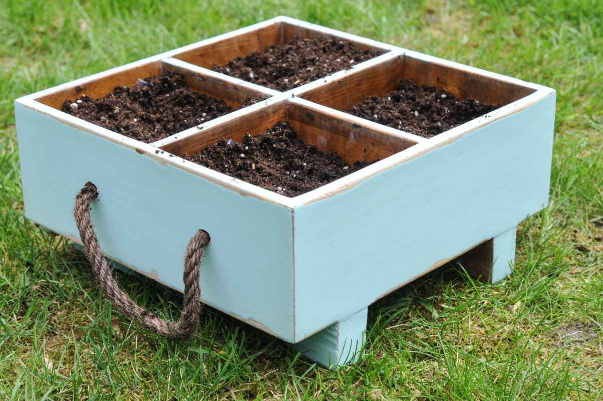 Milk Crate Planter-7