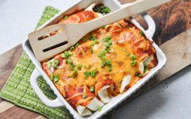 Enchiladas for Breakfast