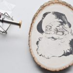 Rustic and Merry: Christmas Wood Slice Ornaments