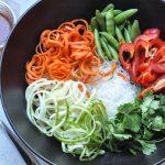 A Big Salad Needs A Big Bowl: Thai Sweet and Spicy Noodle Salad