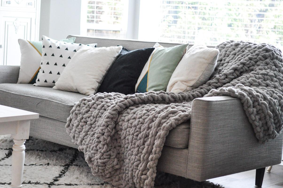 2673fa91c0 Crocheted Chunky Throw Blanket - Suburble